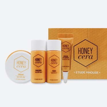 Набор средств для питания кожи ETUDE HOUSE Honey Cera Skin Care Kit - 4 шт.