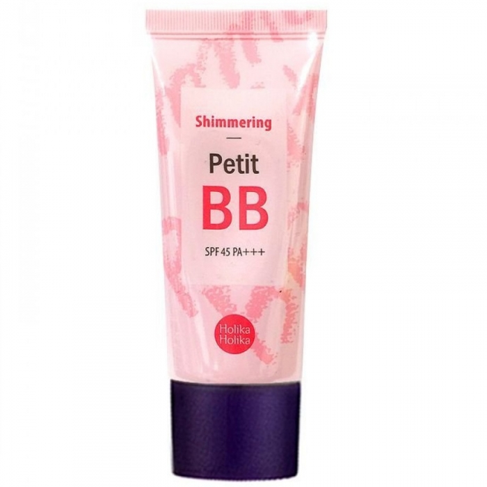 BB-крем сияющий с жемчугом Holika Holika Petit BB Shimmering - 30 мл
