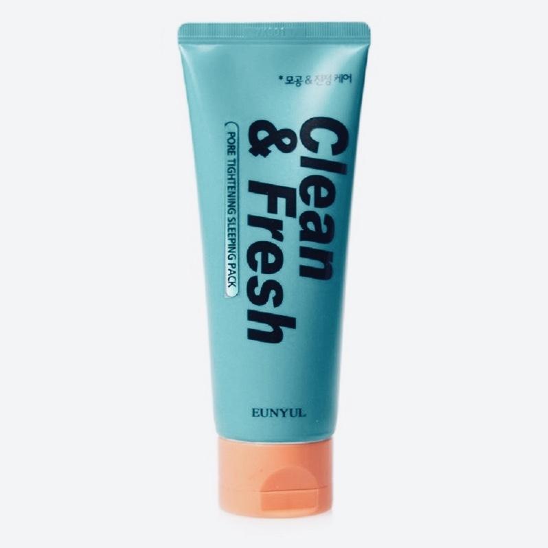 Ночная маска для сужения пор EUNYUL Clean & Fresh Pore Tightening Sleeping Pack - 120 мл