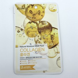 Зволожуюча тканинна маска з колагеном EUNYUL Natural Moisture Mask Pack-Collagen - 25 мл
