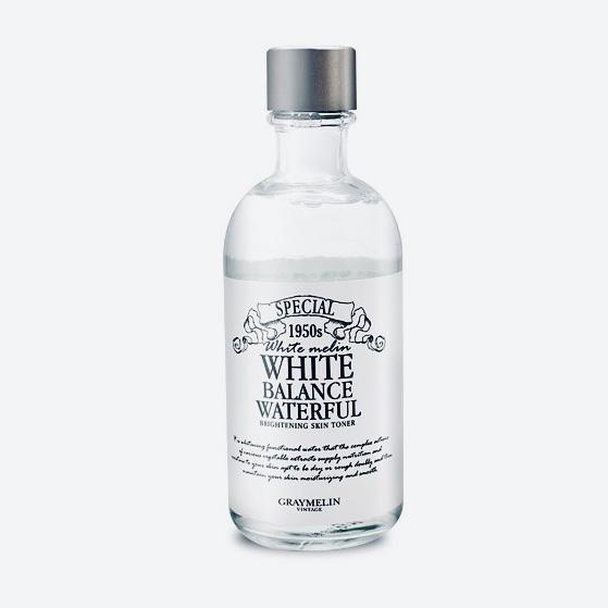 Осветляющий и увлажняющий тонер Graymelin White Balance Waterful Brightening Toner - 130 мл