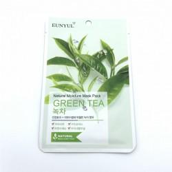 Зволожуюча тканинна маска із зеленим чаєм EUNYUL Natural Moisture Mask Pack-Green Tea - 25 мл