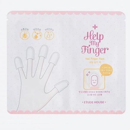 Маска для ухода за ногтями и пальцами ETUDE HOUSE Help My Finger Nail Finger Pack - 10 шт.