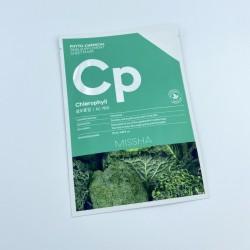 Купить оптом Успокаивающая тканевая маска для лица MISSHA PHYTOCHEMICAL SKIN SUPPLEMENT SHEET MASK Chlorophyll AC CARE - 25 мл