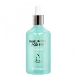 Сироватка для обличчя з гіалуроновою кислотою FARMSTAY HYALURONIC ACID 100 AMPOULE - 100 мл
