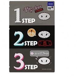 Патчі для видалення чорних крапок Holika Holika Pig Clear Blackhead 3-Step Kit (Strong) - 15 г