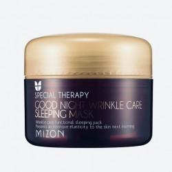 Нічна маска з 50% муцина равлика Mizon Snail Wrinkle Care Sleeping Pack - 80 мл