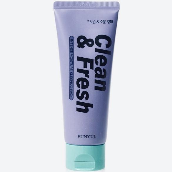 Ночная маска для увлажнения EUNYUL Clean & Fresh Intense Moisture Sleeping Pack - 120 мл