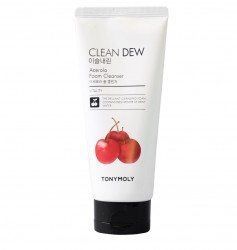 Очищуюча пінка для вмивання з ацеролою Tony Moly Clean Dew Acerola Foam Cleanser - 180 мл