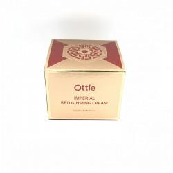 Улиточный крем с женьшенем Ottie Imperial Red Ginseng Snail Cream - 120 мл