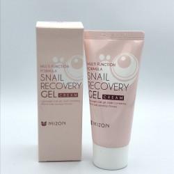 Гель-крем для лица с улиточным фильтратом MIZON SNAIL RECOVERY GEL CREAM - 45 мл