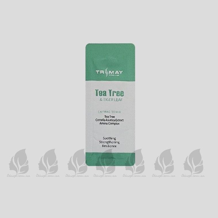 Купить оптом Пробник тонера с центеллой и чайным деревом TRIMAY Tea Tree & Tiger Leaf Calming Toner - 1 шт.